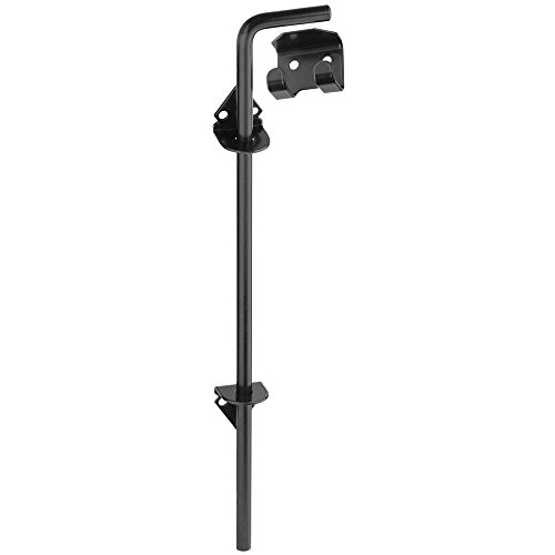 National Hardware N177-188 V835 Cane Bolt in Black (Fence Hardware)
