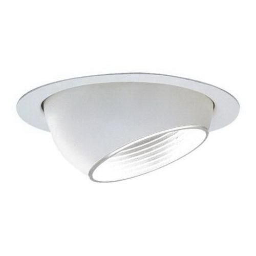 - Lytecaster Baff Eyeball Reflector Trim Finish: Matte White With White Baffle