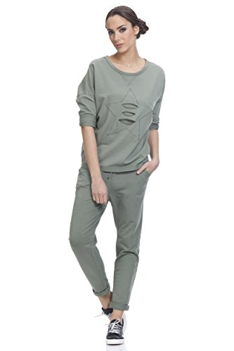 Para khaki Verde Mujer Tantra Pantalones wq4xTCFZ