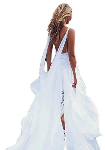 lace split dress - 5