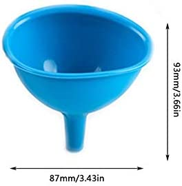 BianchiPamela Silicone Funnel Ice Cube Chocolate Funnel Multi-Functional Silicone Oil Leak