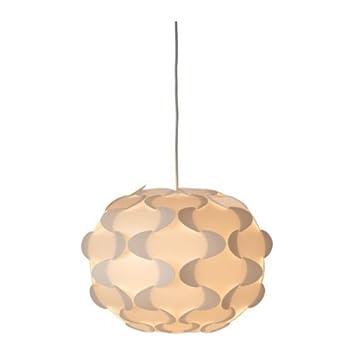 Ikea Fillsta Pendelleuchte Weiss 35 Cm Amazon De Beleuchtung