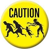Zombie Caution Button 81650