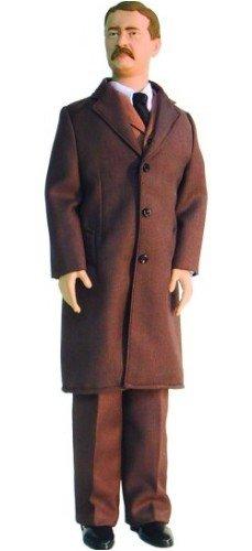 ToyPresidents Inc. Teddy Roosevelt Talking Action Figure (Talking Dolls President)