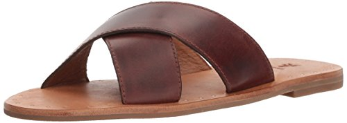 FRYE Women's Ally Criss Cross Slide Sandal