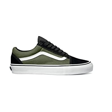 96ee8f5967 Vans Old Skool 92 Pro Elijah Berle - Black Olive  Amazon.co.uk ...