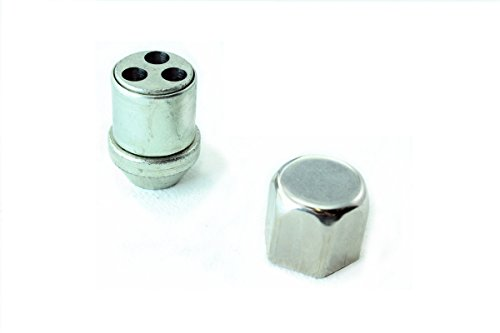 3008peg WHEEL LOCKING NUTS M12x1,25 BOLTS ANTI-THEFT PROTECTION
