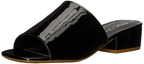 Coconuts by Matisse Women's Plantain Sandal, Black Patent, 10 M ()