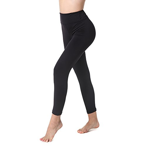 Yoga Capris Pants for Women by Athmile,Power Flex Workout Running Dry Wicking Yoga Capris Leggings
