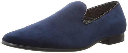 Giorgio Brutini Men's 17603 Slip-On Loafer,Navy Velvet,13 M US (Loafers Blue)