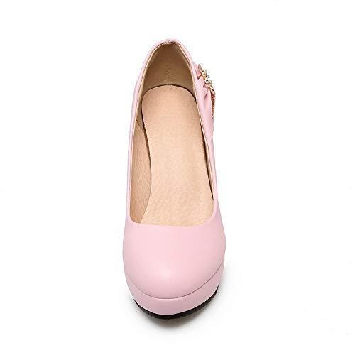 Femme Rose Compensées Sandales 36 Rose DGU00640 5 AN CtBwqZEPWx