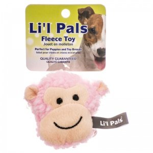 Lil Coastal Pals Toy (Li L Pals Fleece Monkey Dog Toy)