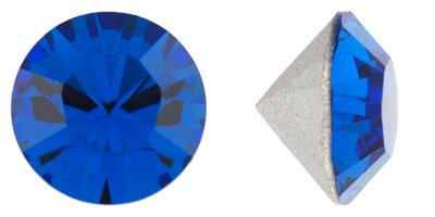 - Swarovski Elements Crystal Capri Blue Chatons (Pp12, Approx. 2mm, Xillion Round Cut)