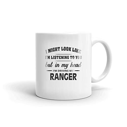 I'm Driving My FORD RANGER Coffee Tea Ceramic Mug Office Work Cup Gift 11 ()
