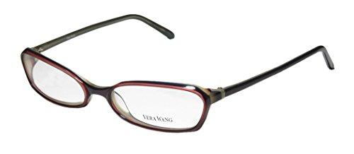 Vera Wang V104 Womens/Ladies Designer Full-rim Eyeglasses/Eyewear (51-17-130, Purple/Plum)
