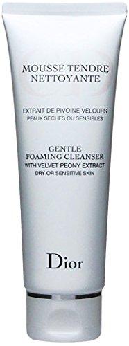 Christian Dior Gentle Foaming Cleanser (Dry/Sensitive Skin) for Unisex, 4.5 - Shop Online Dior
