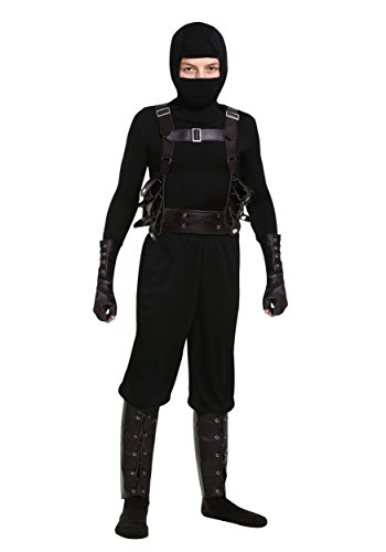 Fun Costumes Ninja Assassin Boys Costume X-Large