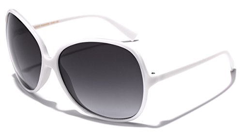 Oversized Round Frame Women's Butterfly Fashion Statement - Sunglasses Sale For Lady