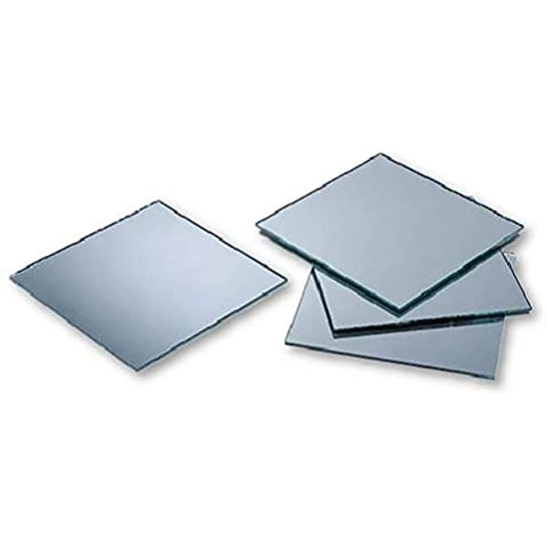 2x3 inch Small Rectangle Craft Mirrors 12 Pieces