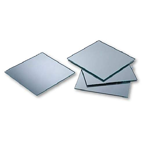 2 inch Glass Craft Small Square Mirrors 12 Pieces Mosaic Mirror ()