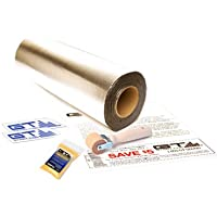 "GTMAT 50 sqft Automotive Sound Deadener 80mil ULTRA – Noise Killer Installation Kit Includes: 50ft Roll (18"" X 33'), Instruction Sheet, Application Roller, Degreaser, GT MAT Decals"