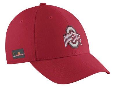 Ohio State Buckeyes True Swoosh Performance Flex Hat - Scarlet