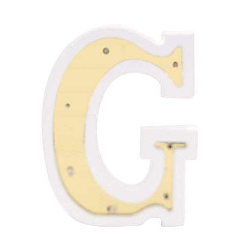 (Jeeke LED Marquee Letter Lights 33 Alphabet Light Up White Plastic Letters Hanging Letters Sign for Fairy Wedding Birthday Party Christmas Lamp Night Light Home Bar Decoration )