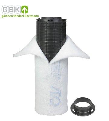 Can Lite Filtre /à charbon actif 300/m/³//h Filtre climatique Growbox Filtre anti-odeurs
