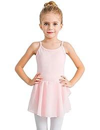 Girl's Cotton Camisole Dress Leotard for Dance, Gymnastics and Ballet(Toddler/Little Girl/Big Girl)