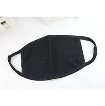 Fashion Unisex Black Health Cycling Anti-Dust Cotton Mouth Face Mask RespiratoNJ