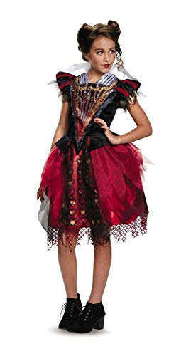 Red Queen Tween Costume Red/Black -