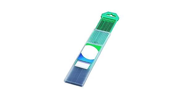 GZ HaiQianXin 10pcs varillas de soldadura de electrodos de tungsteno para soldadura Tig buena conductividad el/éctrica