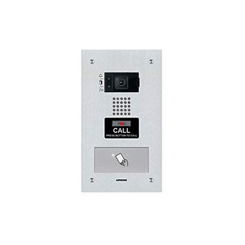 Aiphone IP Addressable Flush Mount Video Door Station with HID Proximity Reader IX-DF-HID