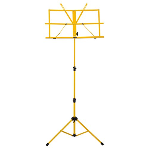Ravel SSSRAVELYELLOW Folding Music Stand, Yellow