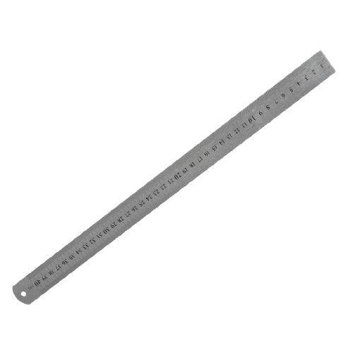 Stainless Steel 16 Inch Straight Ruler Measuring Kit Metric 40cm - 1