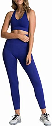 Women's Fitness 2-Piece Set, Comfortable and Breathable Sports Leggings Winter Workout Stretch