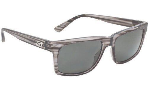 Guideline Eyegear Swell Sunglass, Crystal Graphite Frame, Deepwater Gray Polarized Lens, Large ()