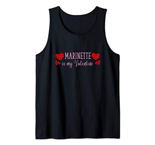 Marinette is My Valentine - Miraculous Ladybug Tank Top