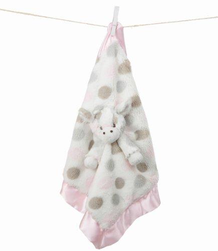 Little Giraffe Little G Luxe Dot Blanky (Pink)