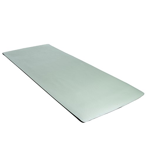 CAP Barbell Antimicrobial EVA Foam Mat, Green Cross Hatch Texture (Antimicrobial Mat)