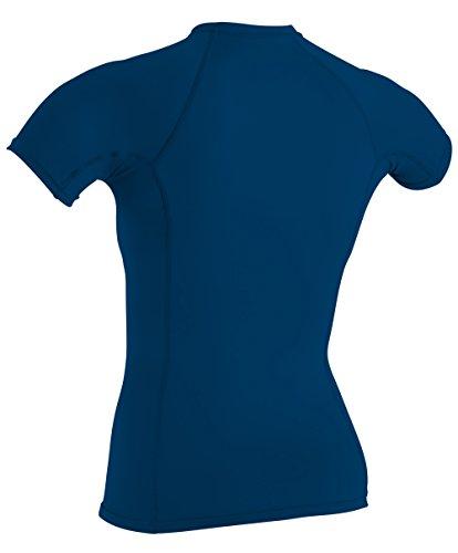 O'Neill Wetsuits Women's Basic Skins Upf 50+ Short Sleeve Rash Guard