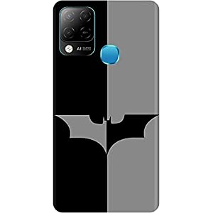 Amagav Soft Silicone Printed Mobile Back Cover for Infinix Hot 10S -Design46