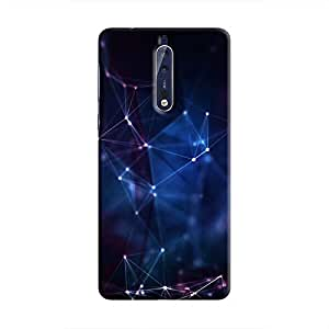 Cover It Up - Connection Points Nokia 8 Hard Case
