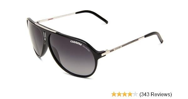 Amazon.com  Carrera Hot P S Polarized Shield Sunglasses,Black   Palladium  Frame Grey Shiny Polarized Lens,One Size  Clothing d1570fddea