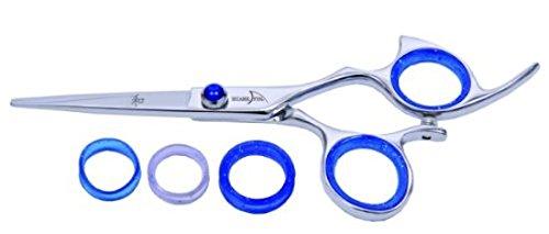 Shark Fin Beauty -Standard Line Right Hand Non-Swivel Shears Stainless 5.5'' by Shark