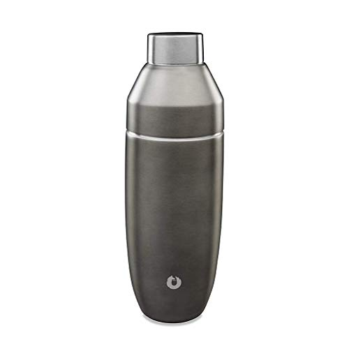 Snowfox Double Wall Insulated Stainless Steel, Shaker, Olive Grey