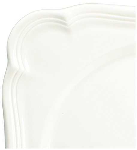 Mikasa French Countryside Square Dipping Plates Set Of 4  White  5093635