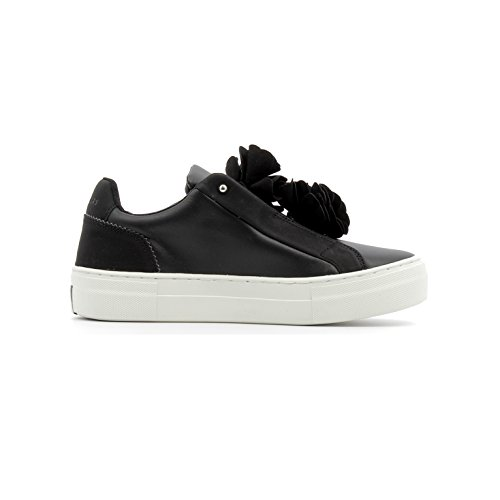 Skechers BLOOMN Sneakers Nero Bianco 73596-BLK