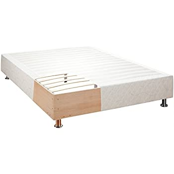 classic brands europa deluxe wood slat platform mattress foundation bed frame king. Black Bedroom Furniture Sets. Home Design Ideas