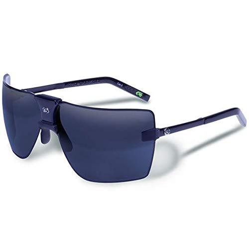 Gargoyles Performance Eyewear Classic Polarized Safety Glasses, Black Frame/Black Ice with Silver Mirror Lenses
